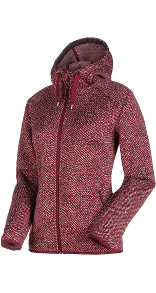 Mammut Chamuera ML Midlayer Dames rood